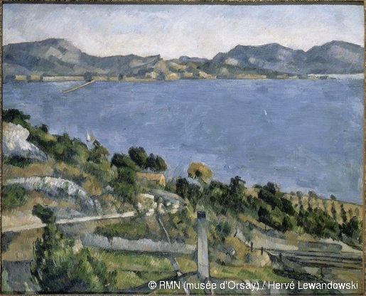 The light here drew Cezanne back to the Marseilles shoreline again and again.