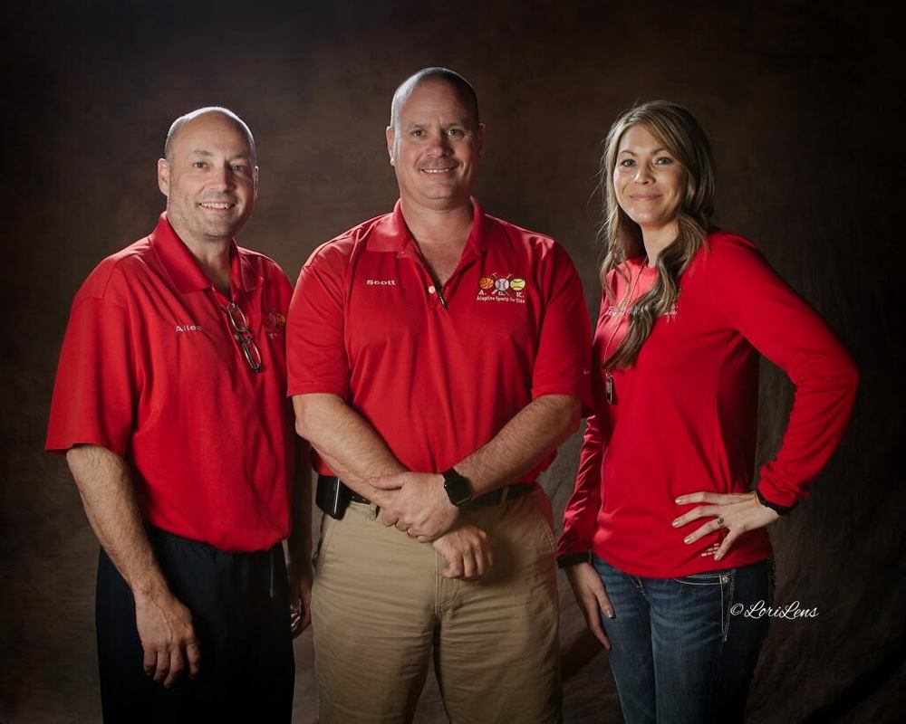 A.S.K. Founders - Allen Nation, Scott Ferguson, and Kerri May.  Photo taken by LoriLens Photography