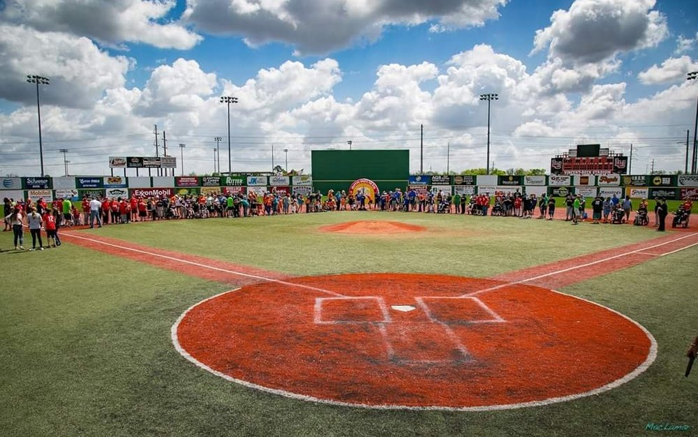 2017 Baseball Opening Ceremony at Vincent Beck Stadium  Photo by Mac Lamar