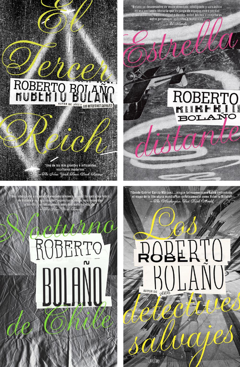ROBERTO BOLAÑO COVER SERIES