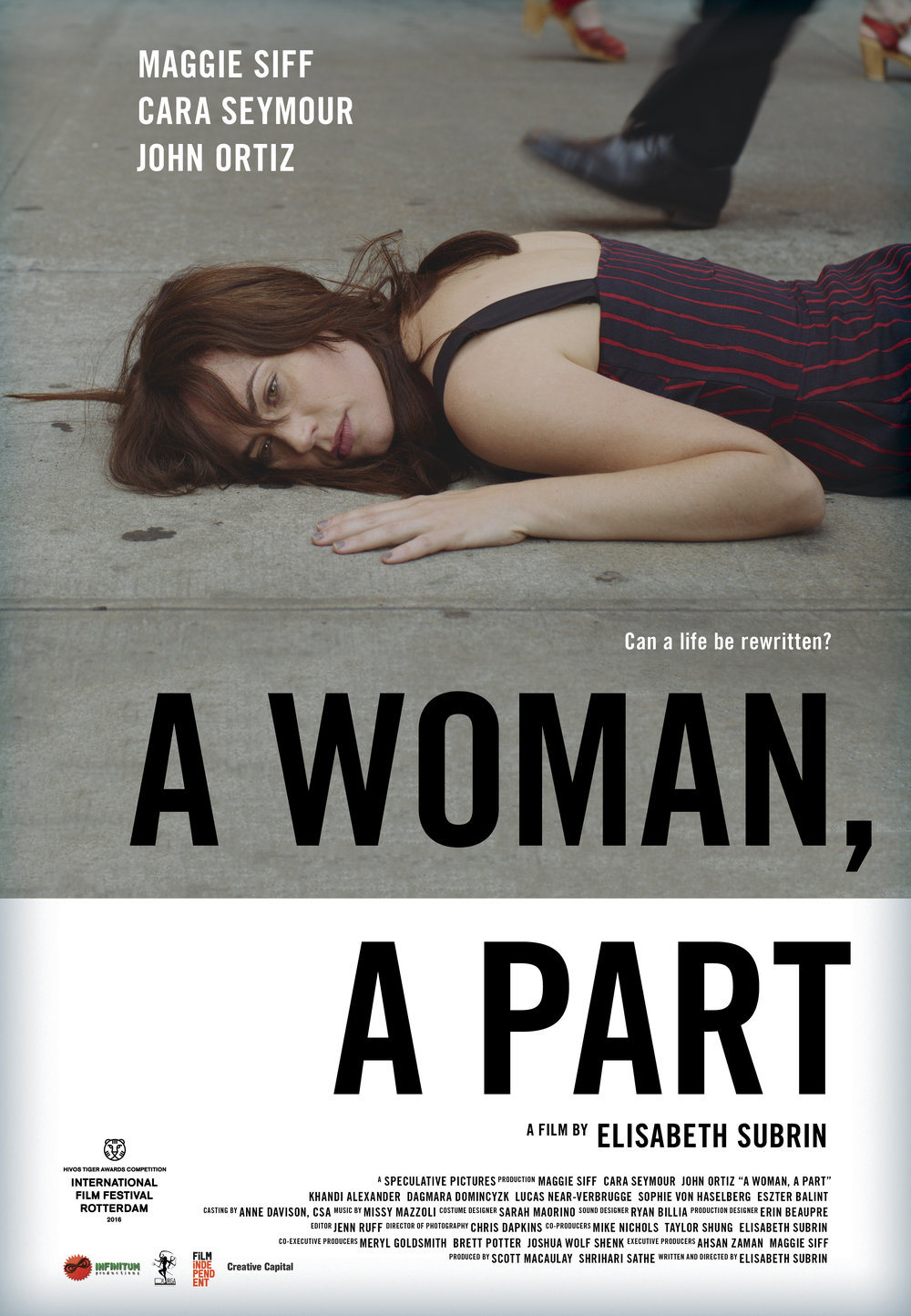 A WOMAN, A PART Film Poster