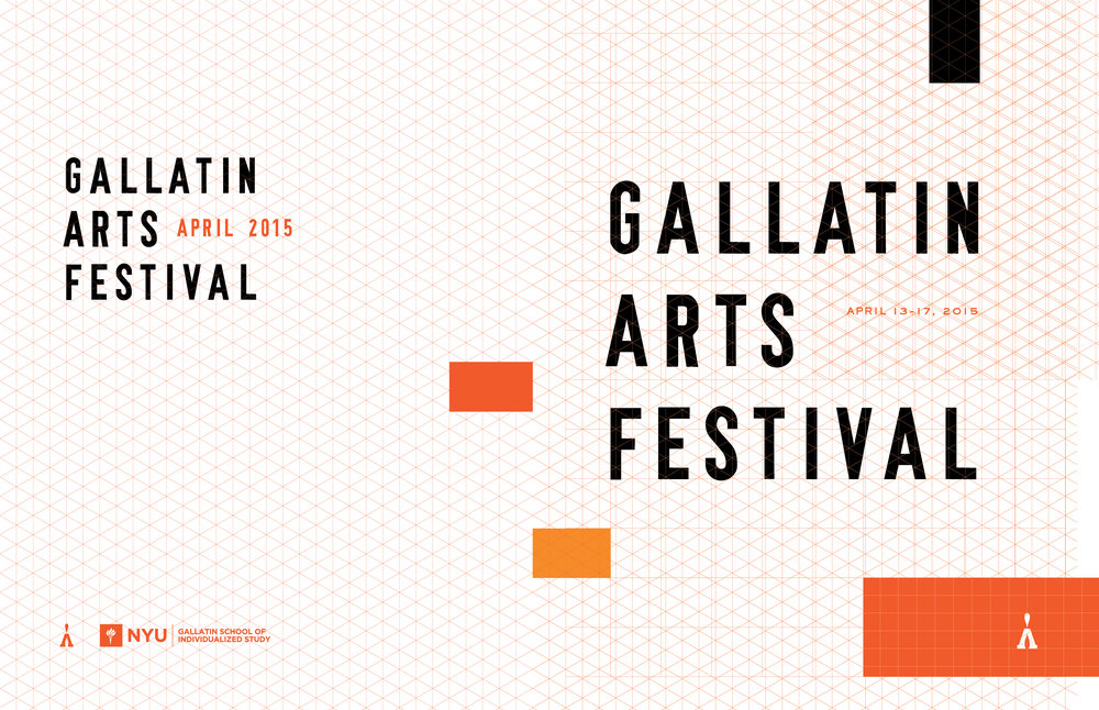NYU Gallatin Arts Festival 2015 Catalog Cover