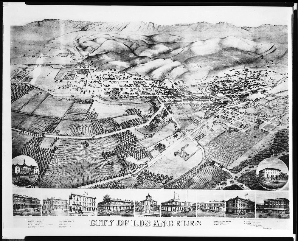 Los Angeles in 1871
