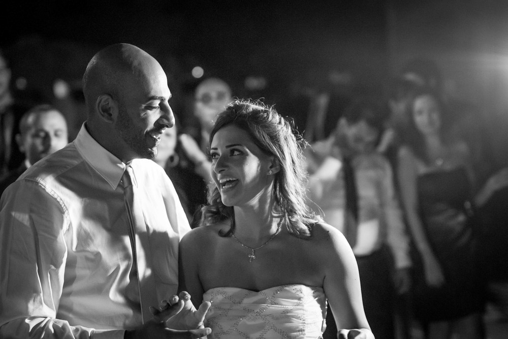 A progressively rarer foray into black and white. Ramez and Maro, mabrouk!