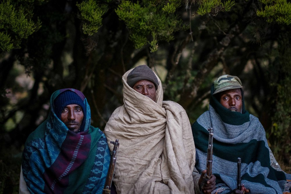 Ethiopians have an amazing ability to bundle up. All it takes is a blanket, and somehow we were the only ones shivering.