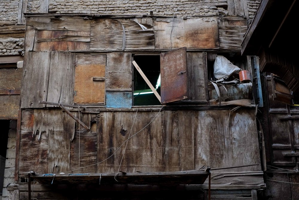The timber yard office. Islamic Cairo.