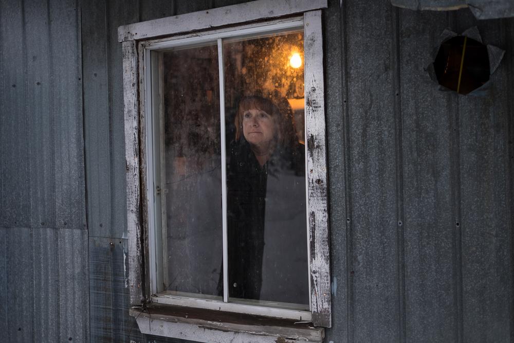 Angèle Grenier in her home near Sainte-Clotilde-de-Beauce.  Leyland Cecco/Al Jazeera America