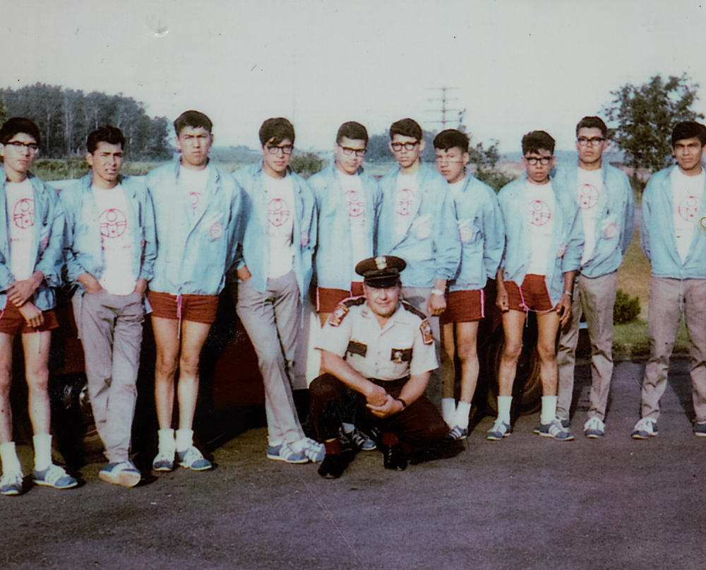 The runners, in 1967.