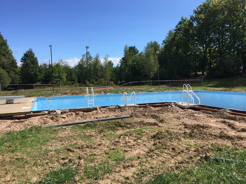 pool perimeter removed