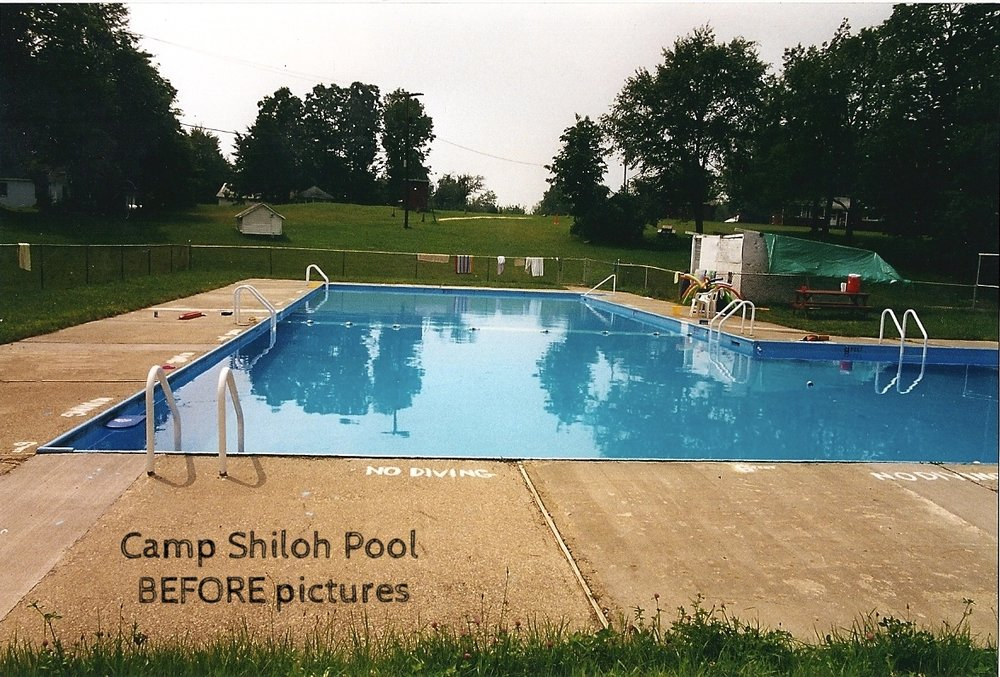 Circa 1990's Camp Shiloh pool