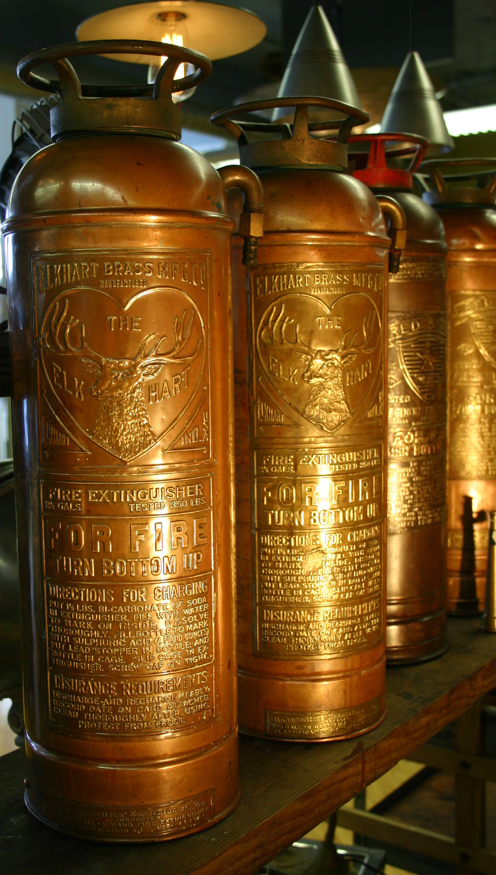 Antique Fire Extinguishers