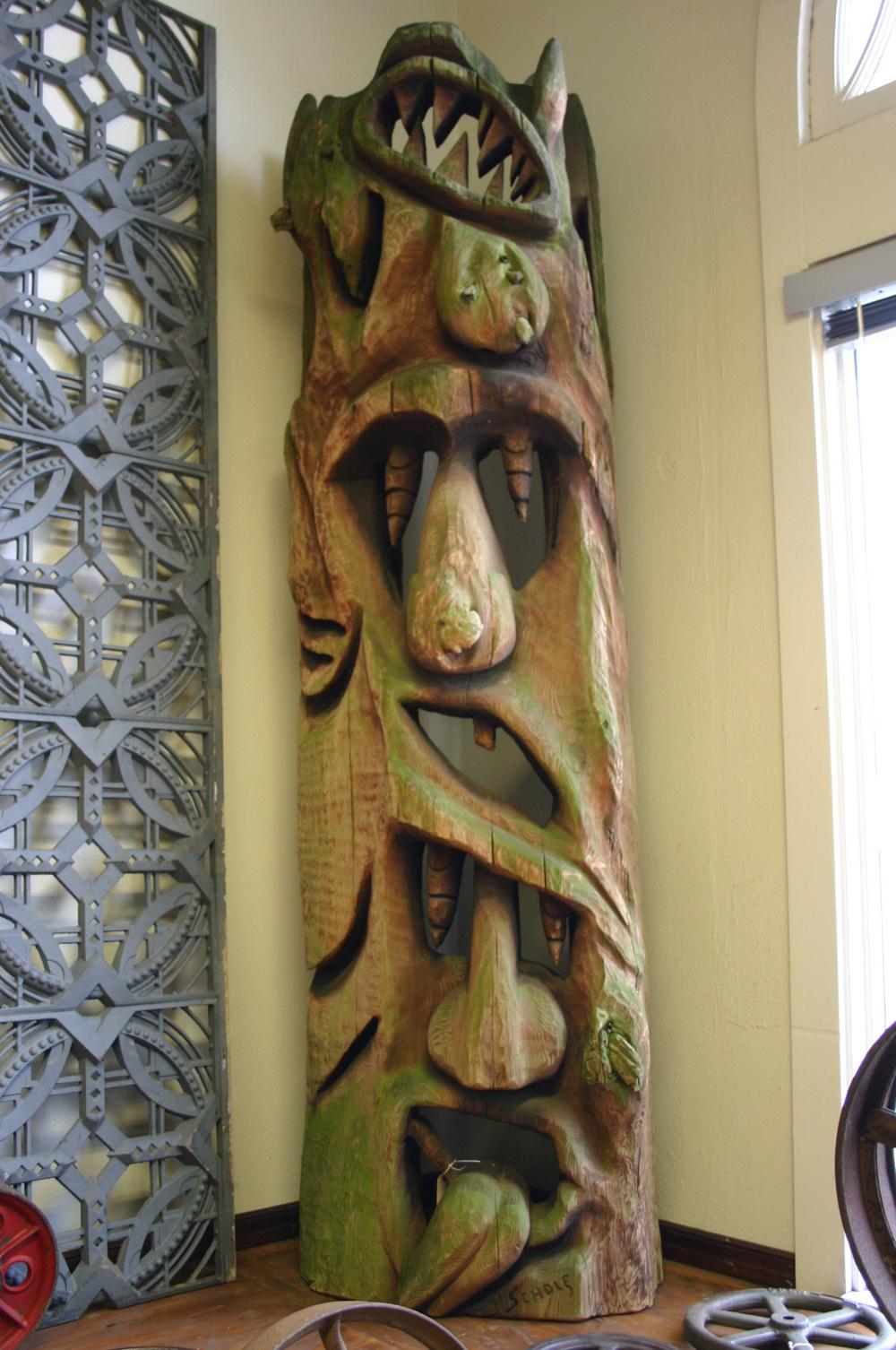 Folk Tiki Totem