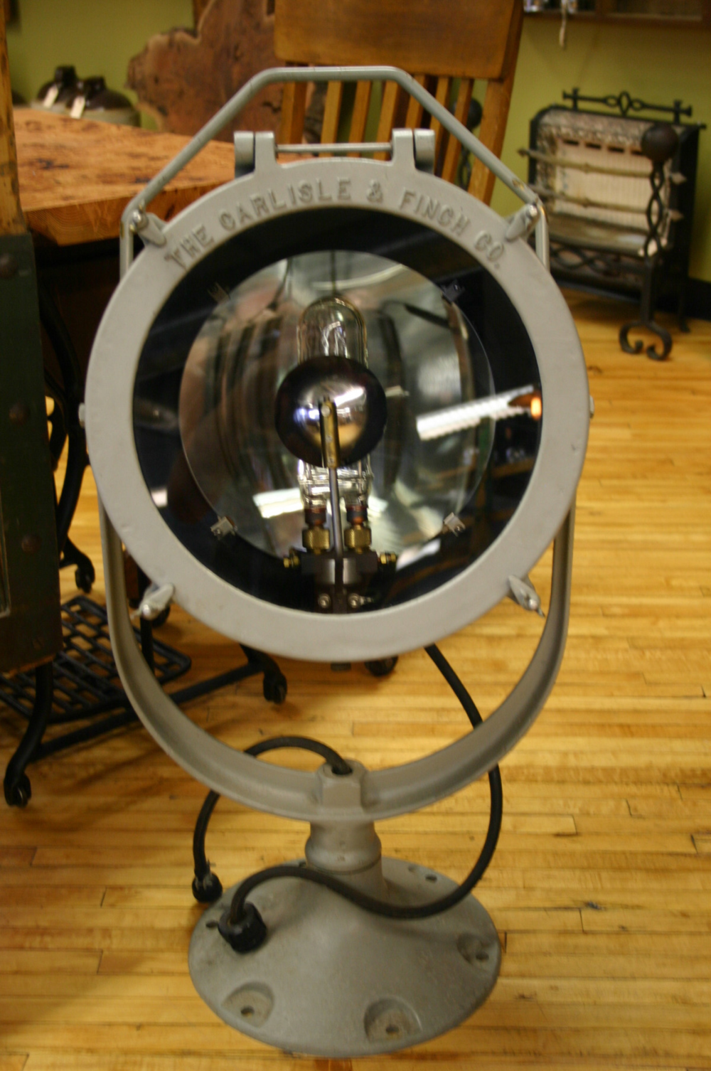 WWII Era Flood Light