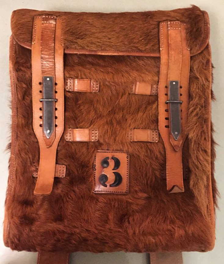Amazing 1939 German signal corps No. 3 Fernsprechtornister backpack. $425