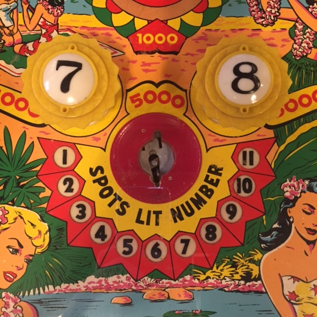 "1960 ""Beach Queens"" Playfield Detail"