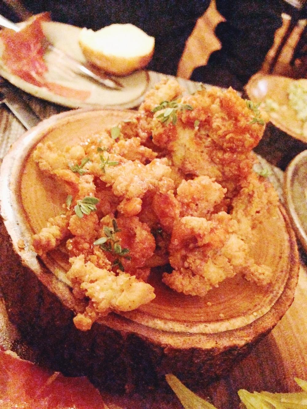 Husk Nashville: Fried Chicken Skin