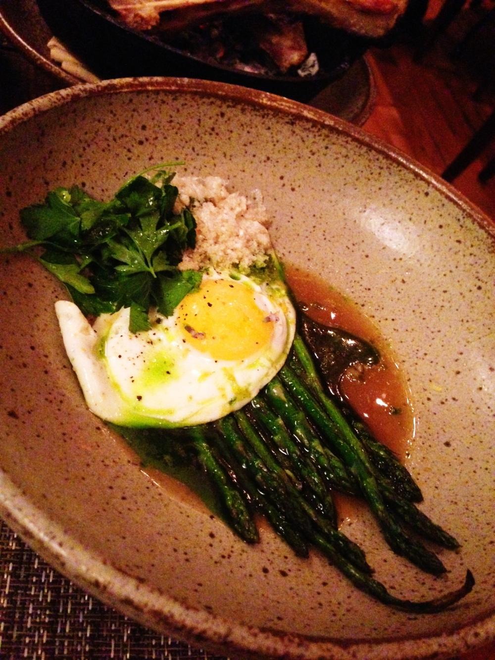 Husk Nashville: Menonite asparagus.