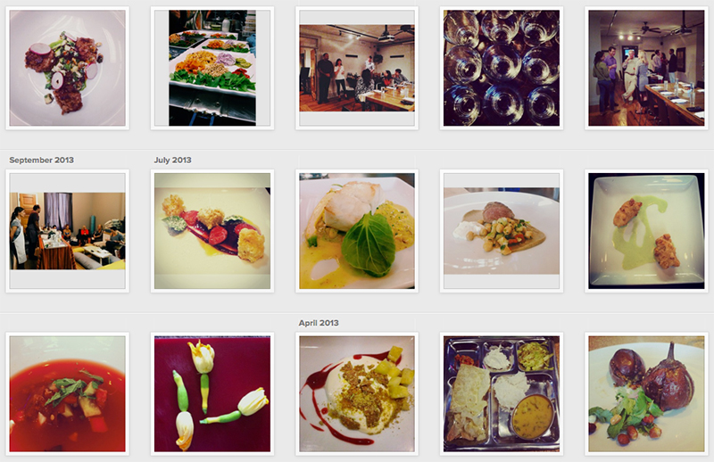 Our Instagram feed created a great portfolio to use for upcoming dinners. By sharing the experience with people who couldn't make it to that particular evening's dinner, it enticed and motivate people to sign up for the next dinner. ( Instagram )