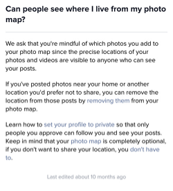geotag privacy settings in instagram
