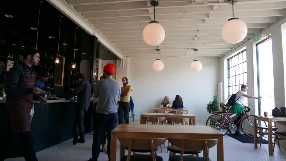 Woodlawn cycle cafe in birmingham