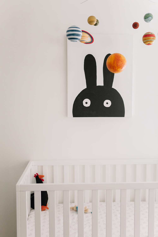 modern nursery decor
