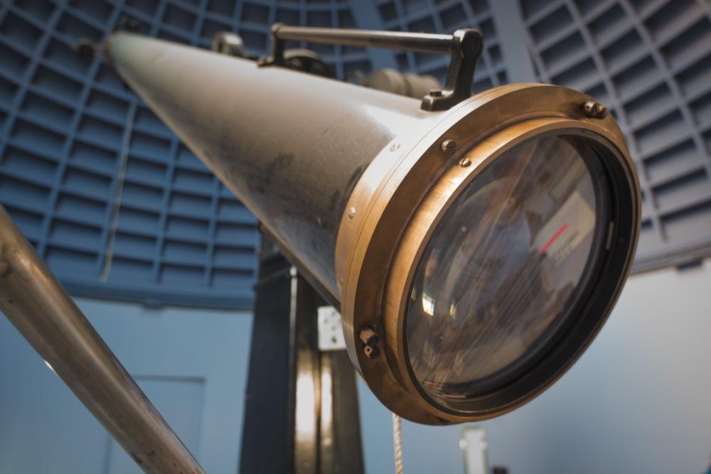 The twelve-inch lens.