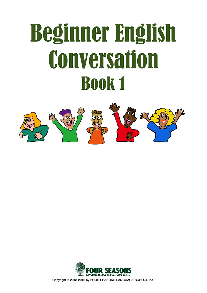 Beginner English Conversation Book 1