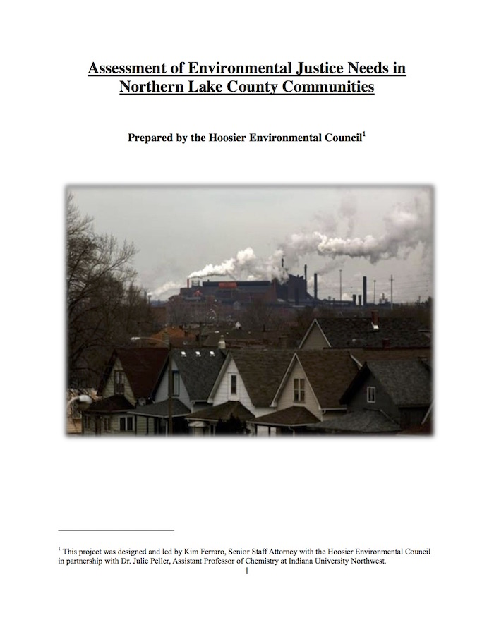 Assessment of Environmental Justice Needs in Northern Lake County Communities