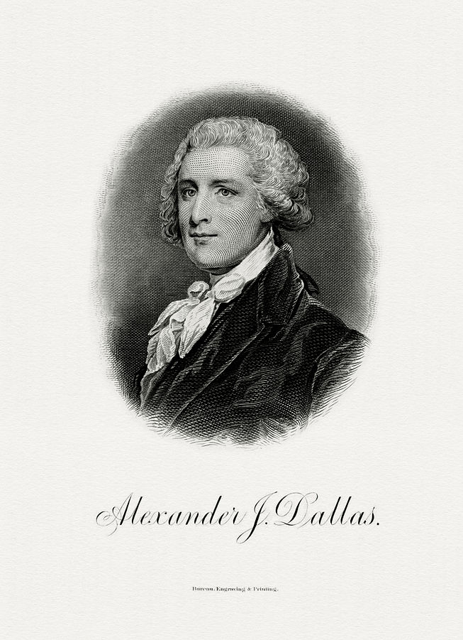 Alexander James Dallas, 1st U.S. Supreme Court Reporter of Decisions (1791-1800)