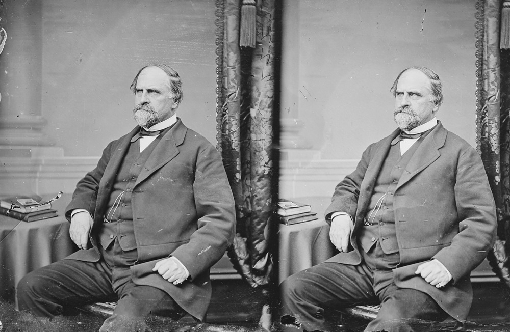 """William T. Otto, Reporter of Decisions, U.S. Supreme Court"" (ca. 1860-65). Image via U.S. National Archives."