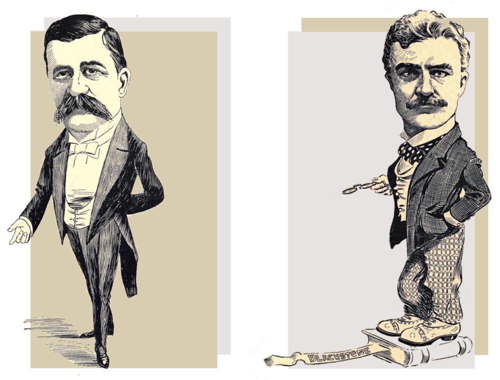 Robt. W. McBride (L) and Henry N. Spann (R)