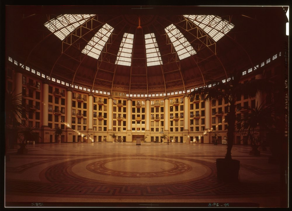 West Baden Springs Hotel, Orange County, Ind. (n.d.) Image via Library of Congress.