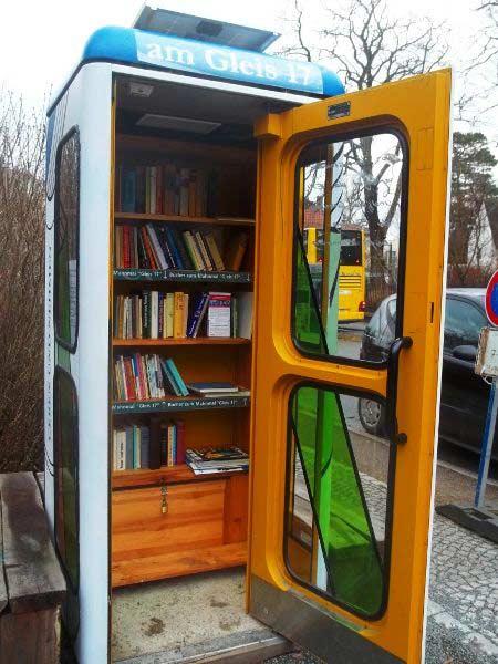 Berlino, una delle 8 BücherboXX