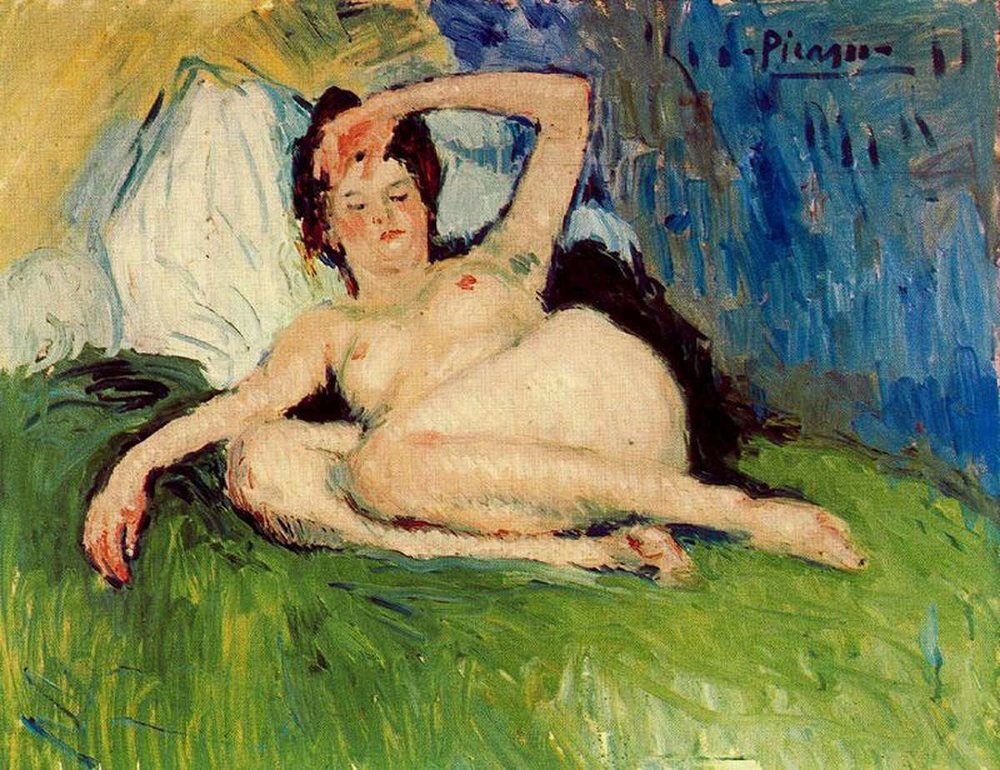 Jeanne Reclining nude, Pablo Picasso