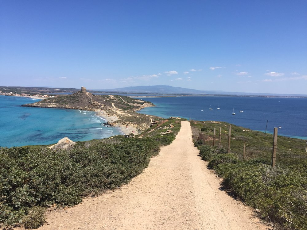 Tharros - Penisola del Sinis - Sardegna.Immagine di DJ Tommy (tcassano[at]aminstruments.com).