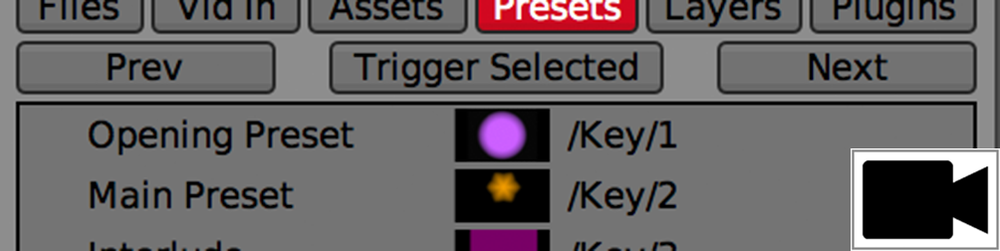 WORKSPACE PRESETS Use Workspace Presets to save and restore the state of all layers and plugins.