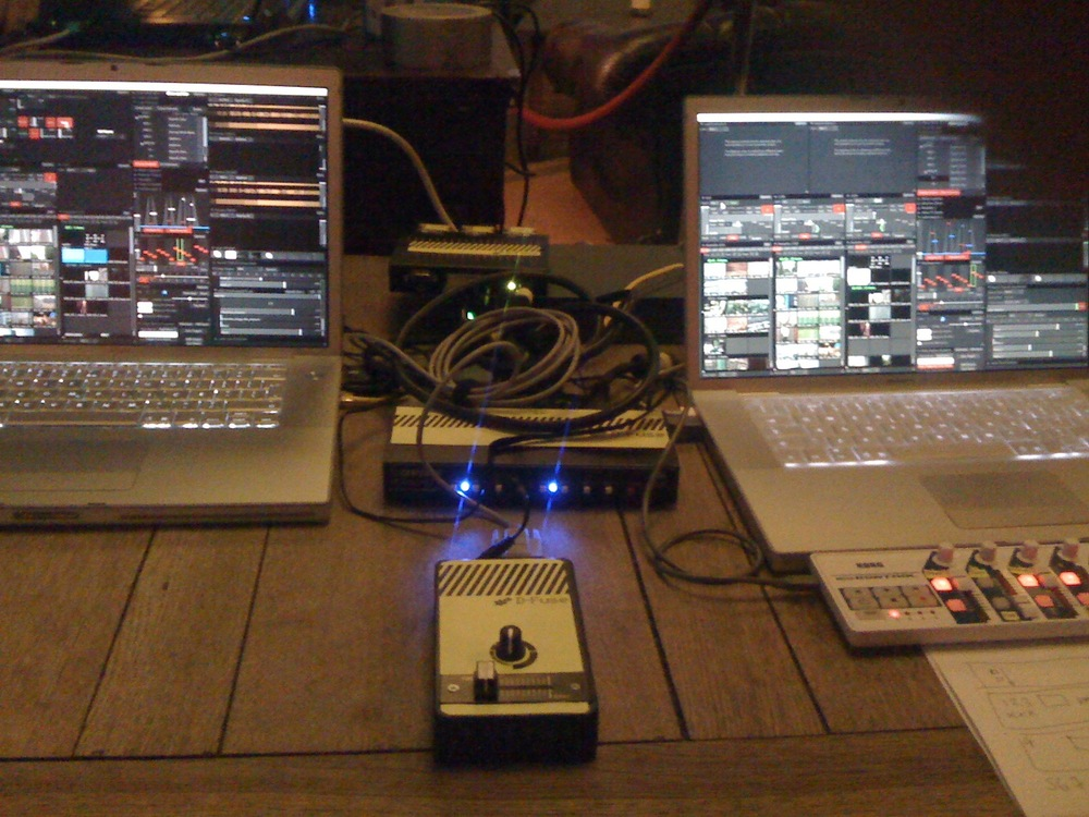 Prototype d-fuser with VDMX