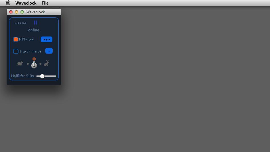 Using Waveclock to send MIDI clock to VDMX — VDMX - MAC VJ SOFTWARE
