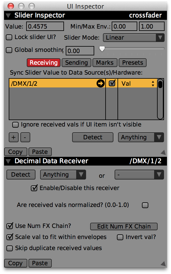 MIDI (and OSC and DMX) setup by detect — VDMX - MAC VJ SOFTWARE