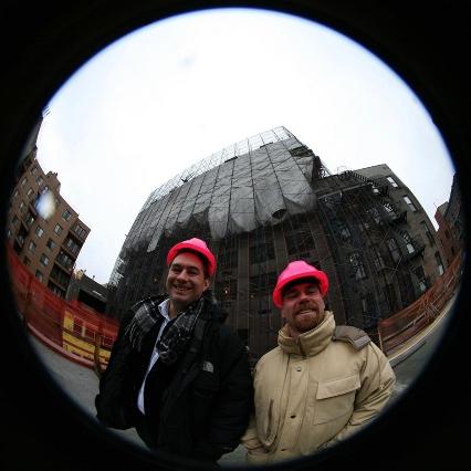 V Owen Bush (left) andBenton-C Bainbridge (right) Photo byDave Pentecost, East Village Planetarium