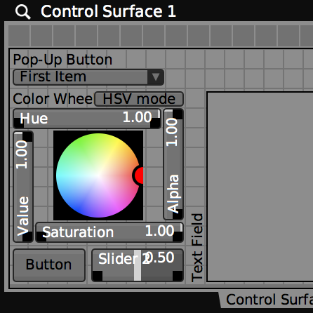 "Create virtual ""Control Surfaces"" for customizing user interface layouts."