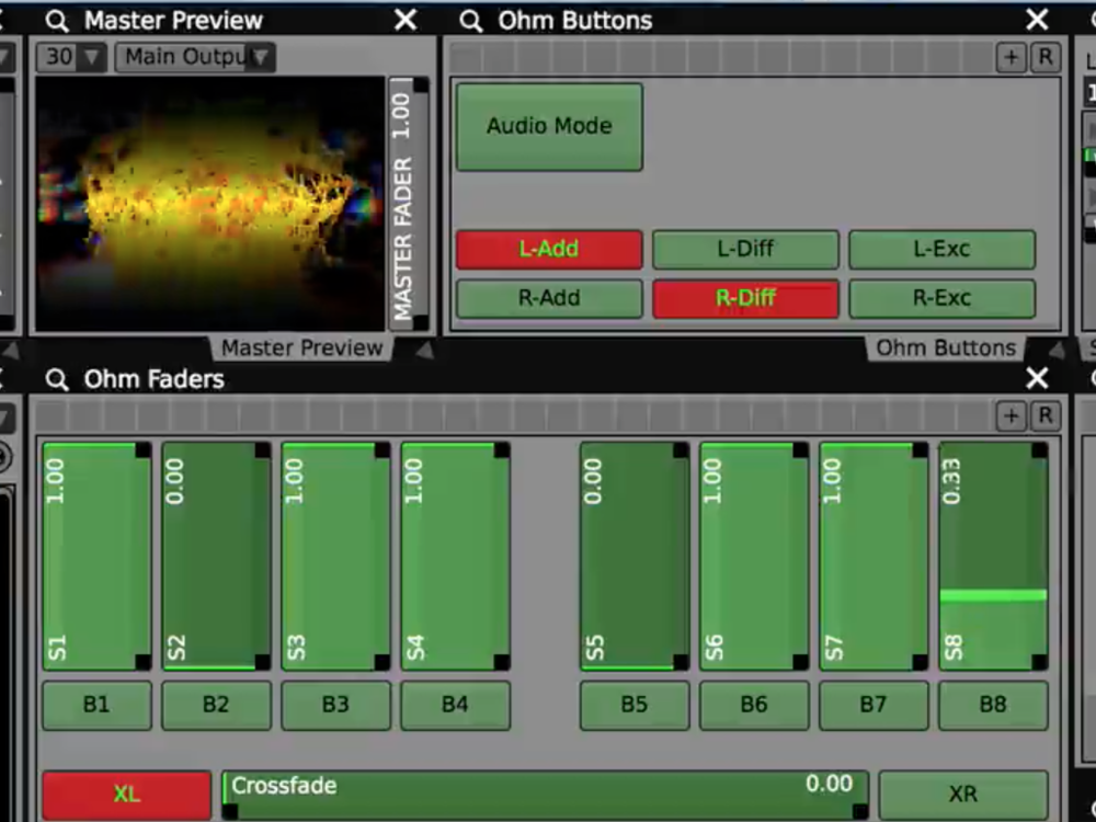 Use the  Control Surface plugins  to change layer settings by mouse, or remap to other MIDI instruments.