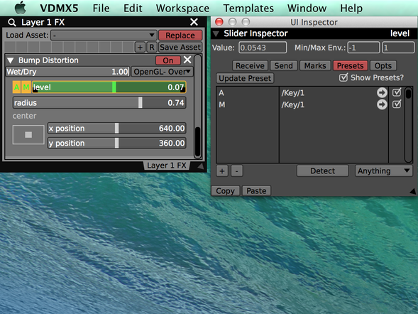 Slider Presets can be used to toggle automations on and off.