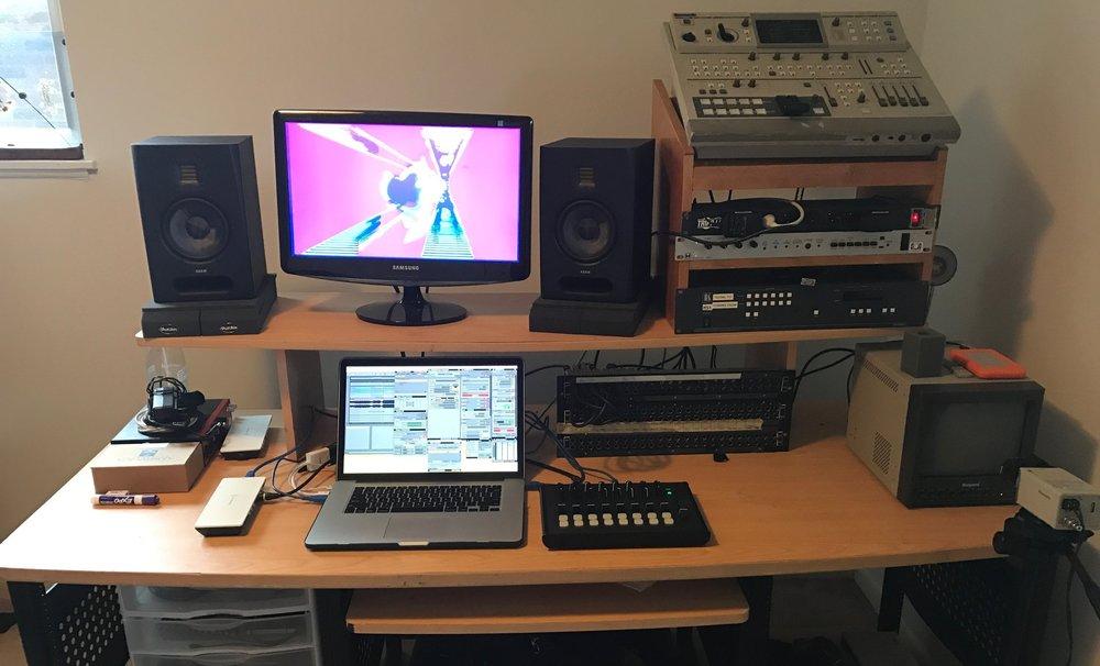 MKAV studio setup