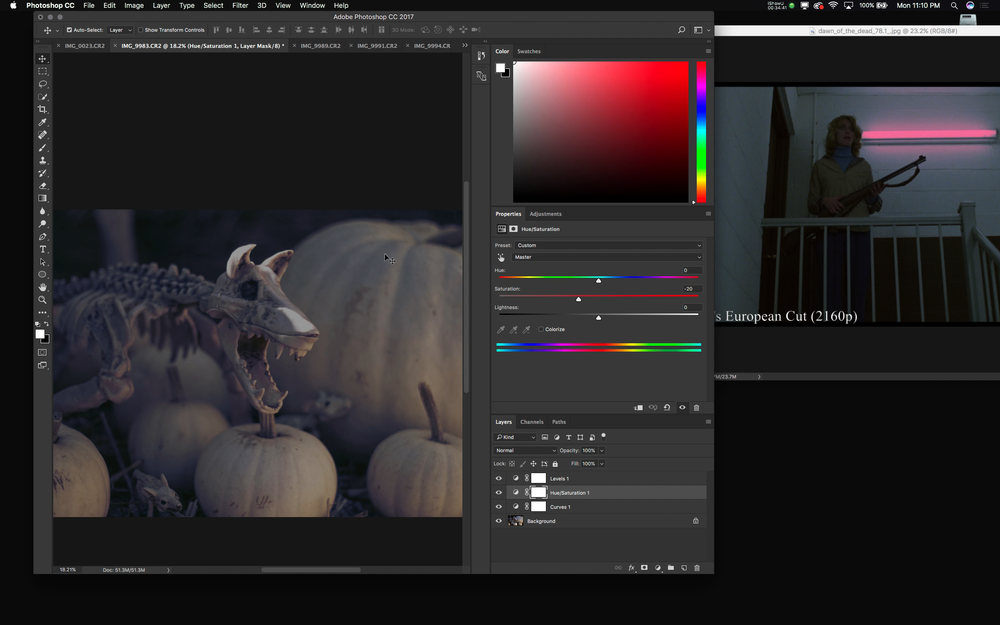Create your own LUTs from reference images in apps like Adobe Photoshop or Affinity Photo.
