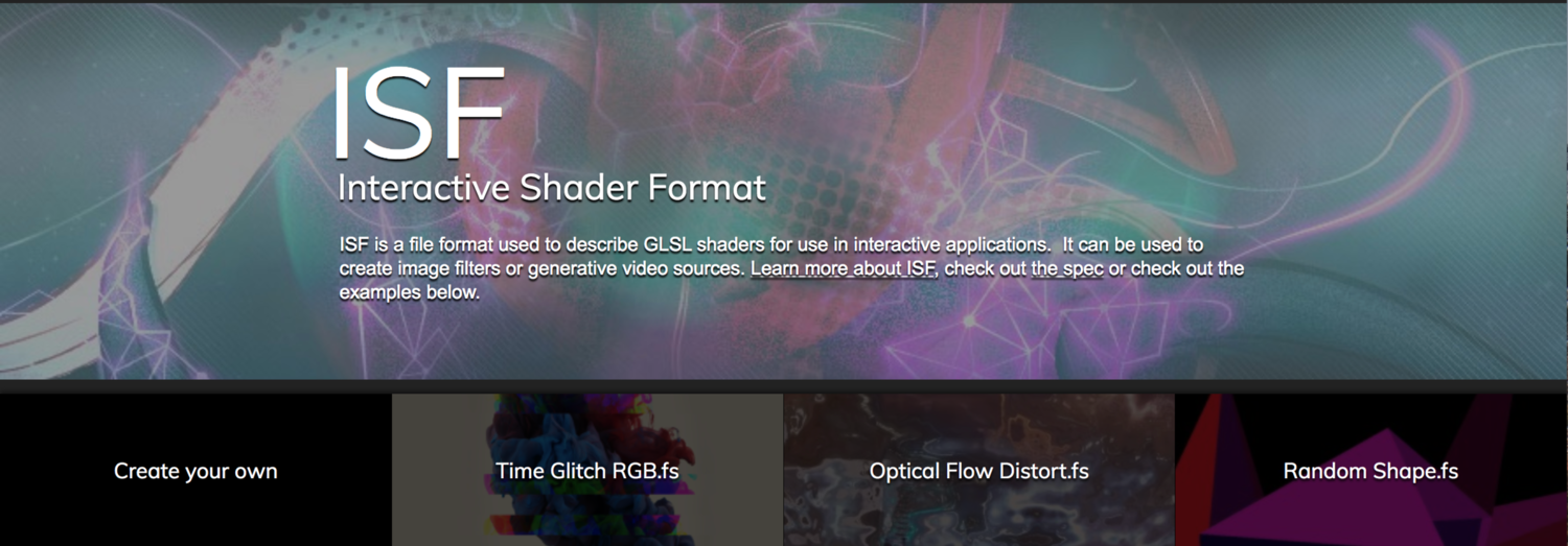 Animating Properties of GLSL Shaders in VDMX — VDMX - MAC VJ SOFTWARE