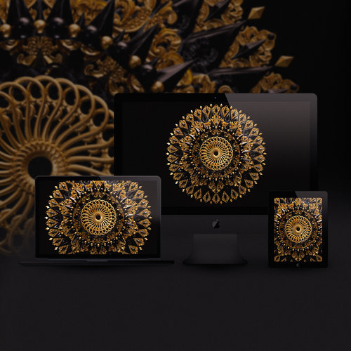 Mandala Wallpaper Pack Billelis