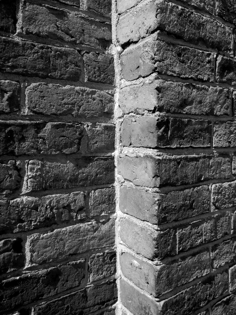 Brick, Layered brick, Beacon Hill, Charles street meeting house