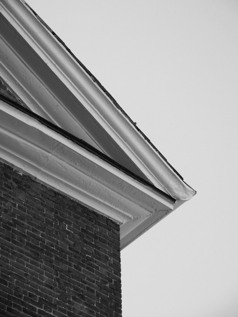 brick, eave, roof, Beacon Hill, Charles street meeting house