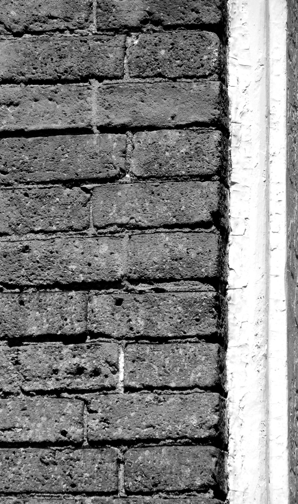 Brick, Beacon Hill, Charles street meeting house, Window